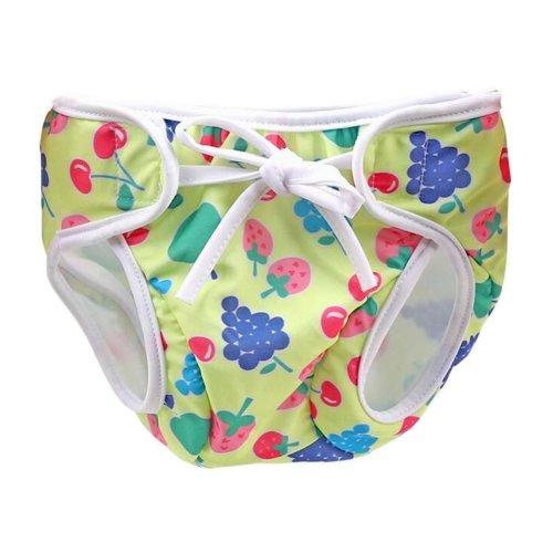 [Fruit-3] Reuseable Baby Swim Diaper Lovely Infant Swim Nappy Swimwear