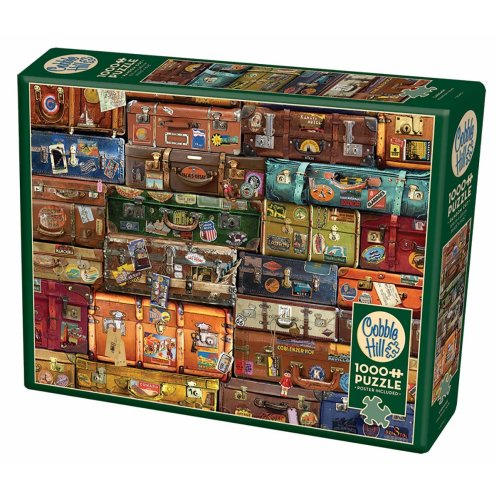 CBL80195 - Cobblehill Puzzles 1000 pc - Luggage