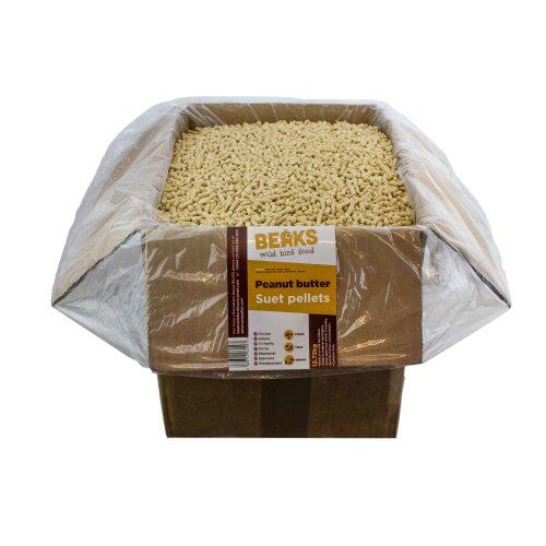 BEAKS Peanut Butter suet feed pellets for wild birds 12.75kg