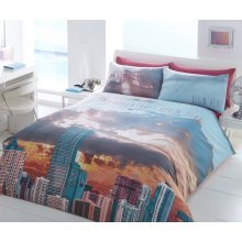 Miami My Adventure Printed Duvet Quilt Cover Bedding Set