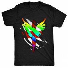 8TN Wings - Ripped Inside - England Fan - JP Womens T Shirt
