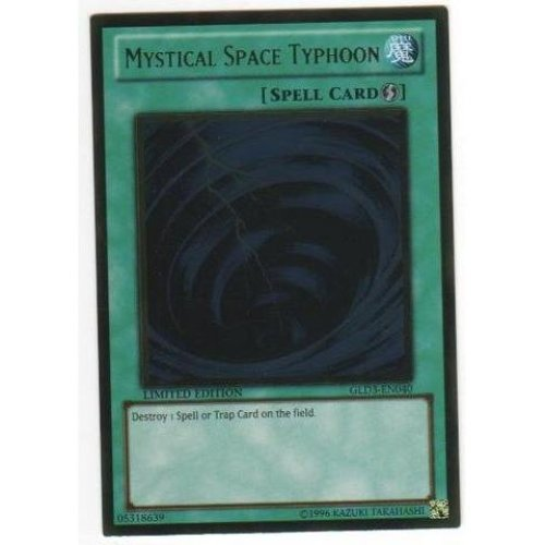 Yu-Gi-Oh! - Mystical Space Typhoon (GLD3-EN040) - Gold Series 3 - Limited Edition - Ultra Rare