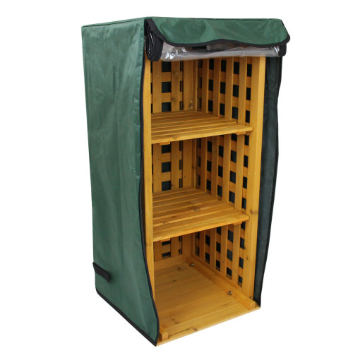 2 in 1 Outdoor Firewood Log Store & Welly Storage Rack