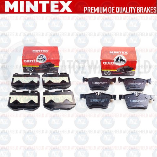 FOR MERCEDES C CLASS AMG FRONT REAR PREMIUM MINTEX BRAKE PADS SET NEW 2013-