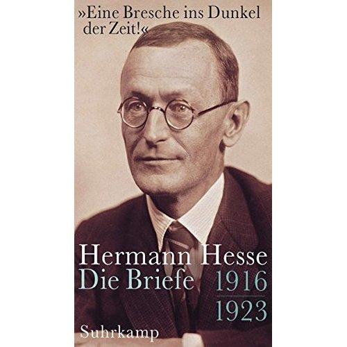 »Eine Bresche ins Dunkel der Zeit!«: Briefe 1916 - 1923