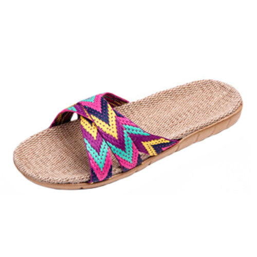 Ladies House Slippers Casual Slipper Indoor & outdoor Anti-Slip Shoes NO.08