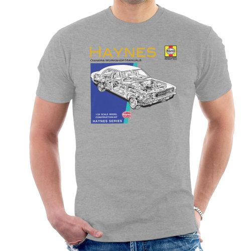 Haynes Owners Workshop Manual 0070 Ford Cortina Mk3 Men's T-Shirt