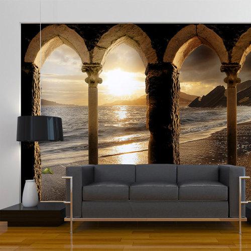 Wallpaper - Castle on the beach