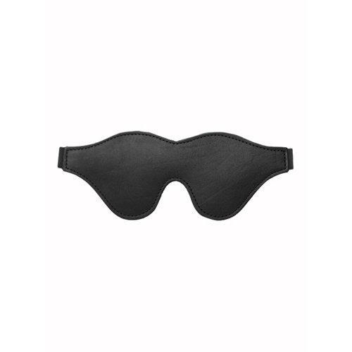 Strict Leather Black Fleece Lined Blindfold  BDSM Masks - Strict Leather