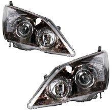 Honda Cr-v 2007-4/2010 Headlights Headlamps 1 Pair O/s & N/s