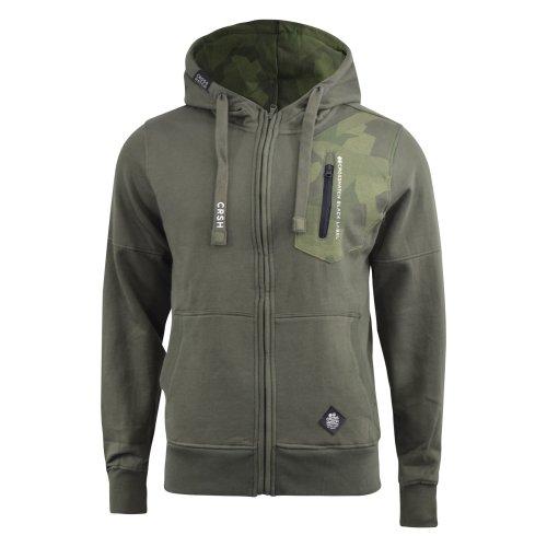 Mens hoodie crosshatch full zip radzim