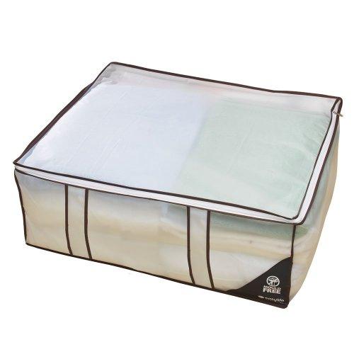 Moth-Free Jumbo Storage Bags | 2x H26xW51xD26cm 3xH25xW68xD58cm | Set of 5