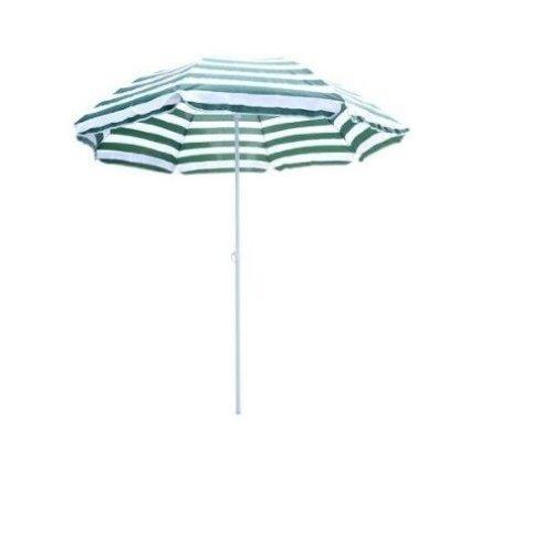 Outsunny Beach Sun Umbrella Tilting Parasol