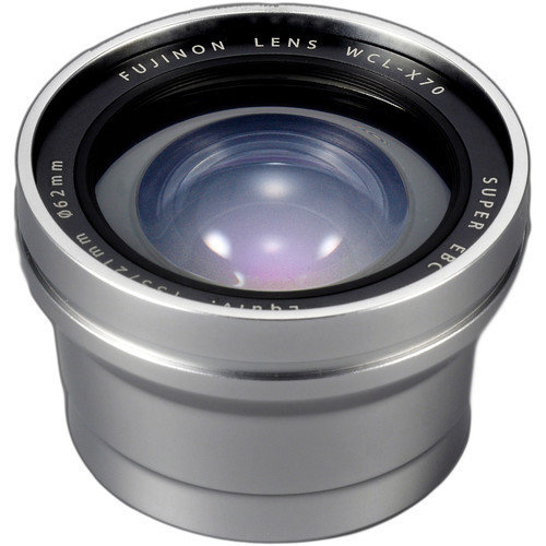 FUJI WCL-X70 Silver Wide Conversion Lens