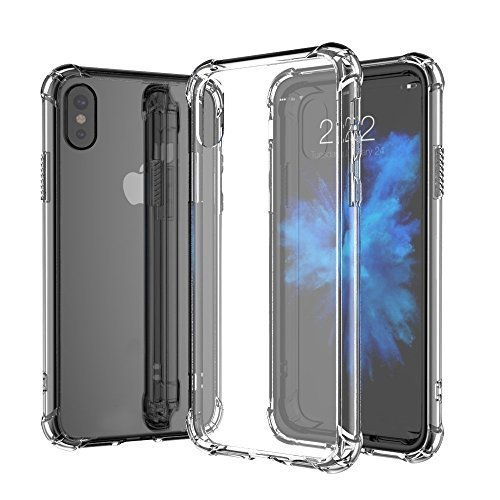 For iPhone XS Max (6.5) Crystal Clear Case Cover