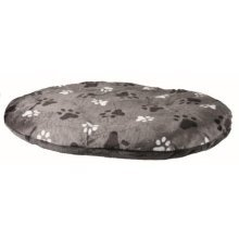 Trixie Gino Cushion For Dogs, 60 x 40 Cm, Grey - Dogscm -  trixie grey gino cushion dogs 60 40 cm