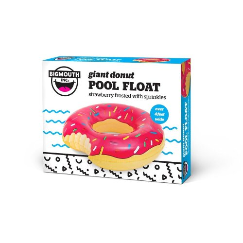 Big Mouth Giant Donut Pool Float