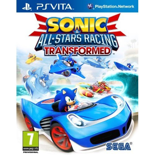Sonic and All Stars Racing Transformed (PlayStation Vita)