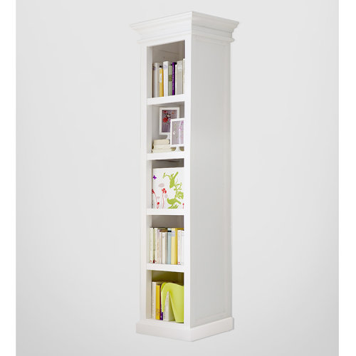 Halifax Painted Furniture Tall Narrow Bookcase