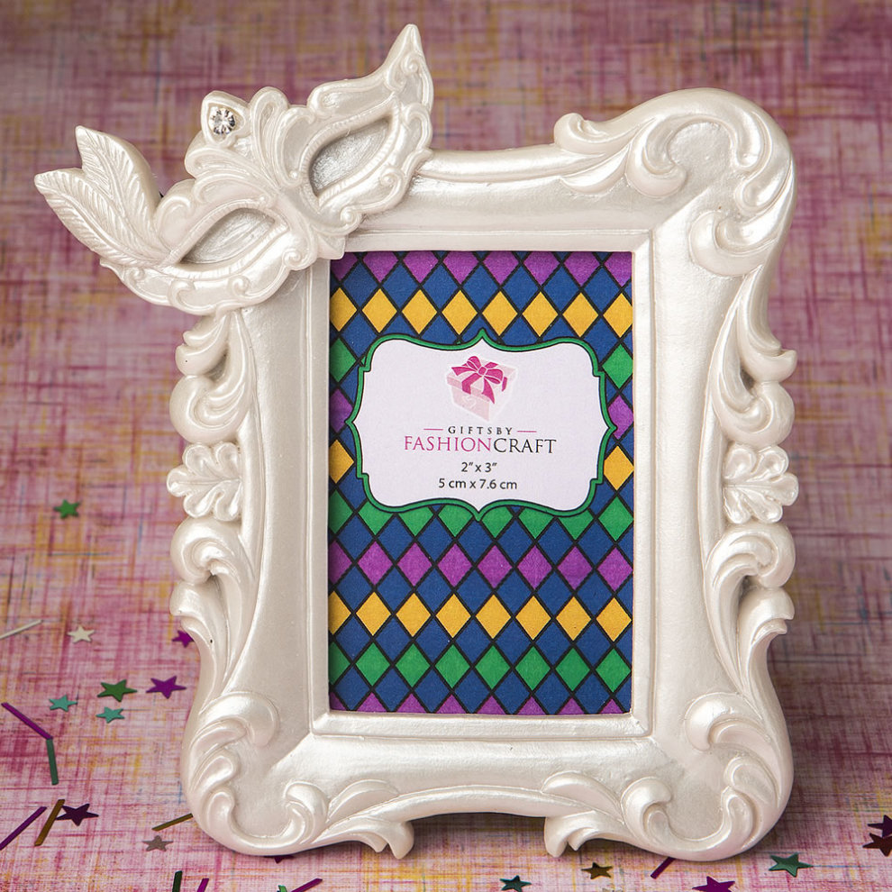 7fd5a7b60f6 Mardi Gras Masked theme picture   placecard frame from solefavors on OnBuy