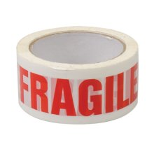 Fixman Fragile Packing Tape 48mm x 66m - Packing Tape x Fragile 66m 48mm 191480 -  packing tape x fragile 66m 48mm fixman 191480 parcel
