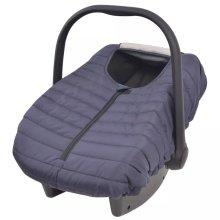 vidaXL Baby Carrier/Car Seat Cover 57x43 cm Navy