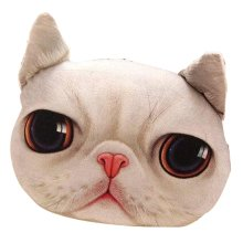 Cat Pillow Washable Cushion Christmas Gift Fashion Pillow White