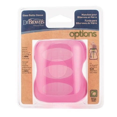 Dr Brown's Pink Sleeve for 150ml Glass Bottle