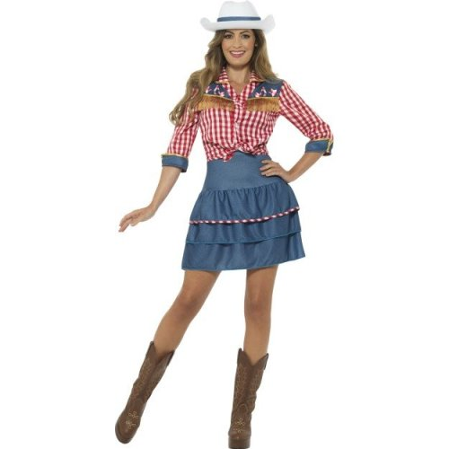 982ef965f1d Women's Rodeo Doll Costume - rodeo cowgirl fancy dress womens costume  ladies western doll wild cowboy adult