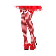 Hold-ups White & Red Stripes