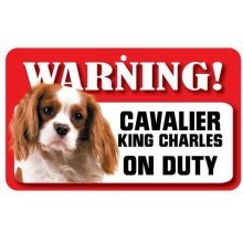 Cavalier King Charles Spaniel Pet Sign