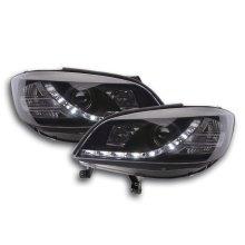 Daylight headlight  Opel Zafira A Year 99-04 black