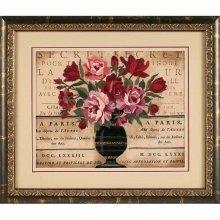 D01542 - Dimensions Crewel Embroidery - Parisian Bouquet