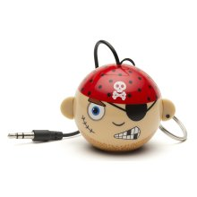 KitSound Mini Buddy and Portable Rechargeable Universal Wired Speaker with 3.5 mm Jack and USB Charging Cable Compatible with...
