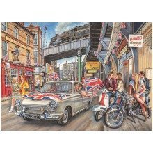 Falcon Deluxe Spirit of the Sixties Jigsaw Puzzle (1000 Pieces)