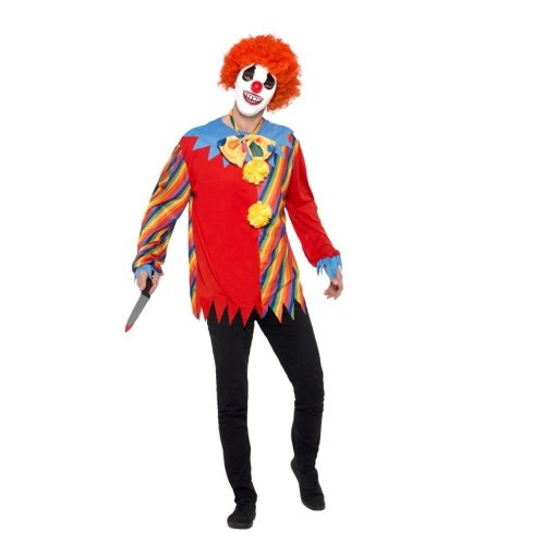Creepy Clown Kit, Halloween Cirque Sinister Fancy Dress, One Size