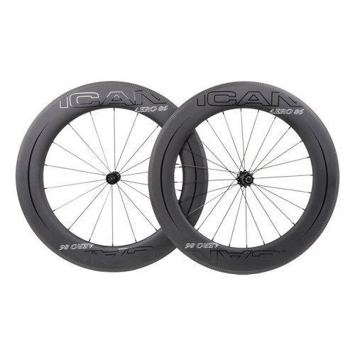 ICAN Carbon Road Bike Wheels AERO 86