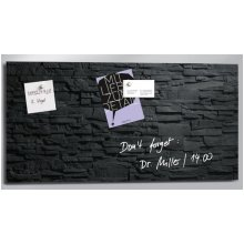 Sigel GL149 Glass Black magnetic board