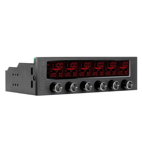Thermaltake Commander F6 16 colour RGB Fan Control panel