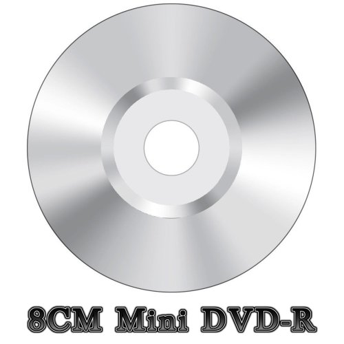 Blank Mini 8CM DVD-R Video Camera Camcorder Disc Silver (4x 30min 1.4GB)