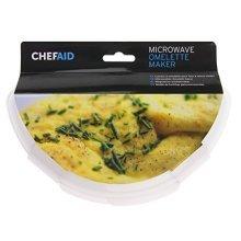 Chef Aid Microwave Egg Omelette Maker, White - Maker Shipping Free -  chef aid microwave egg omelette maker white shipping free