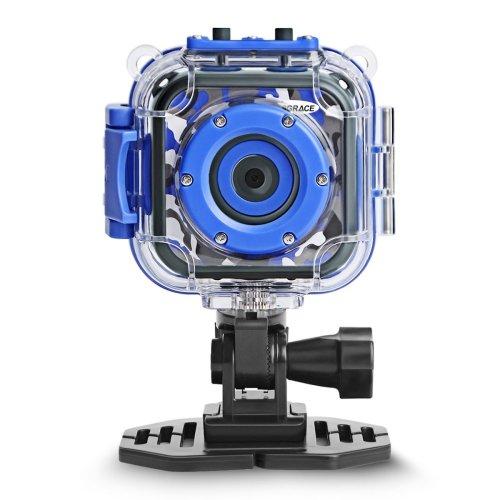 DROGRACE Kids Camera 1080P Digital Photo/Video Cameras Underwater Action Camera Waterproof 98 feet for Boys Girls Birthday Holidays Children Toys...