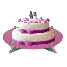 Dots Bon Ton Cake Stand Single Round