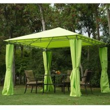Outsunny 3m X 3m Metal Gazebo in Green
