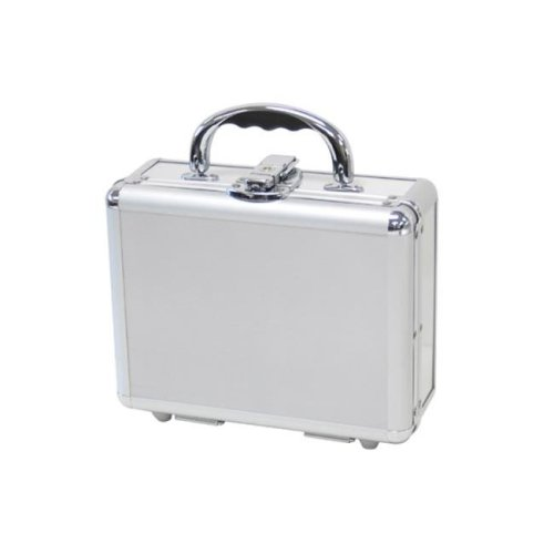 TZ Case CLS-09 S Aluminum Packaging Case, Silver - 3.5 x 7 x 9 in.