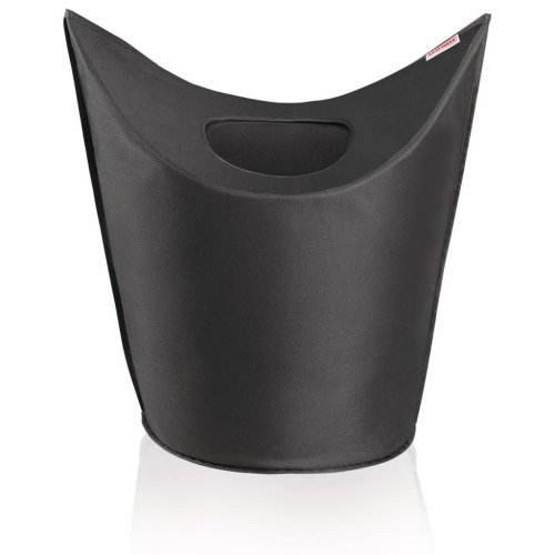Leifheit Laundry Bin Black 60x35x80 cm 80021