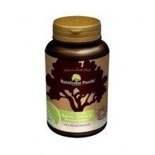 Rainforest Foods - NZ Barley Grass & Wheatgrass 140 capsule