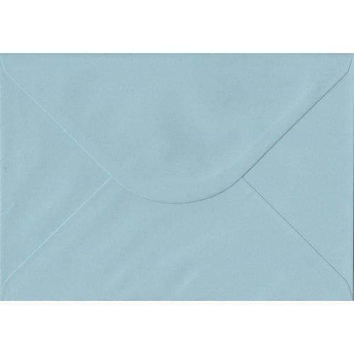 Baby Blue Gummed C5/A5 Coloured Blue Envelopes. 100gsm FSC Sustainable Paper. 162mm x 229mm. Banker Style Envelope.