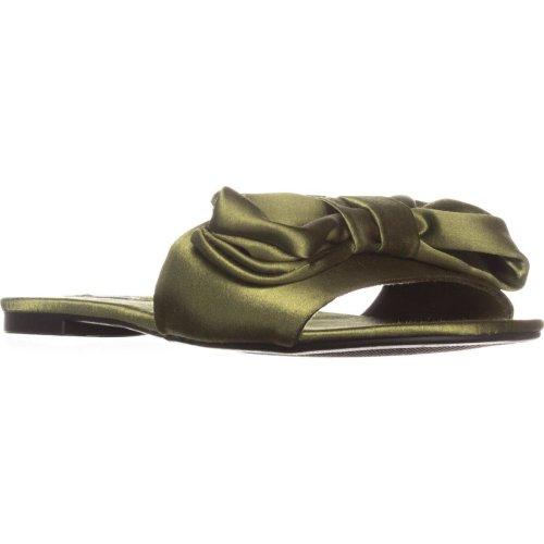 ZIGI Valiant Flat Slide Sandals, Army Green, 6 UK