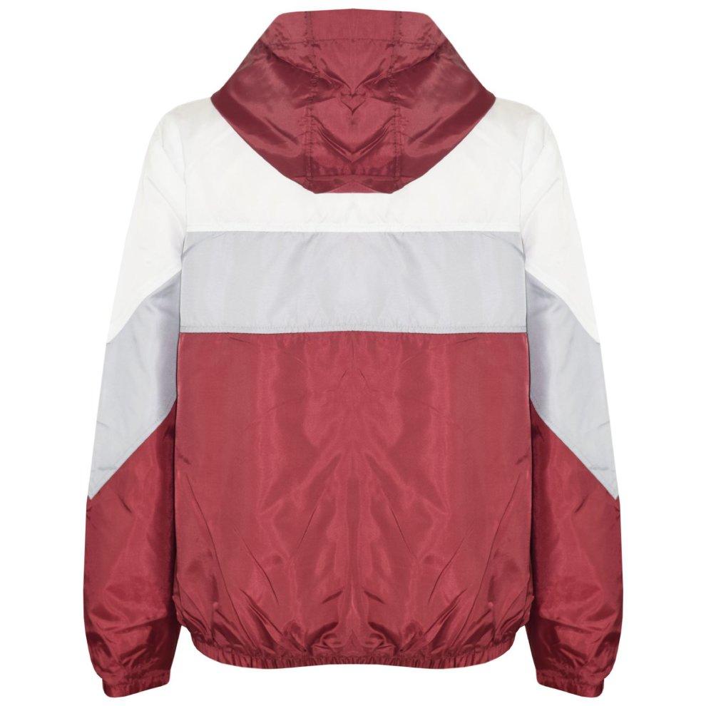 A2Z 4 Kids/® Girls Boys Windbreaker Jackets Kids Sky Blue Light Weight Contrast Panels Waterproof Hooded Cagoule Rain Mac Raincoats Age 5 6 7 8 9 10 11 12 13 Years